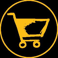 Schokocards Shop Icon yellow