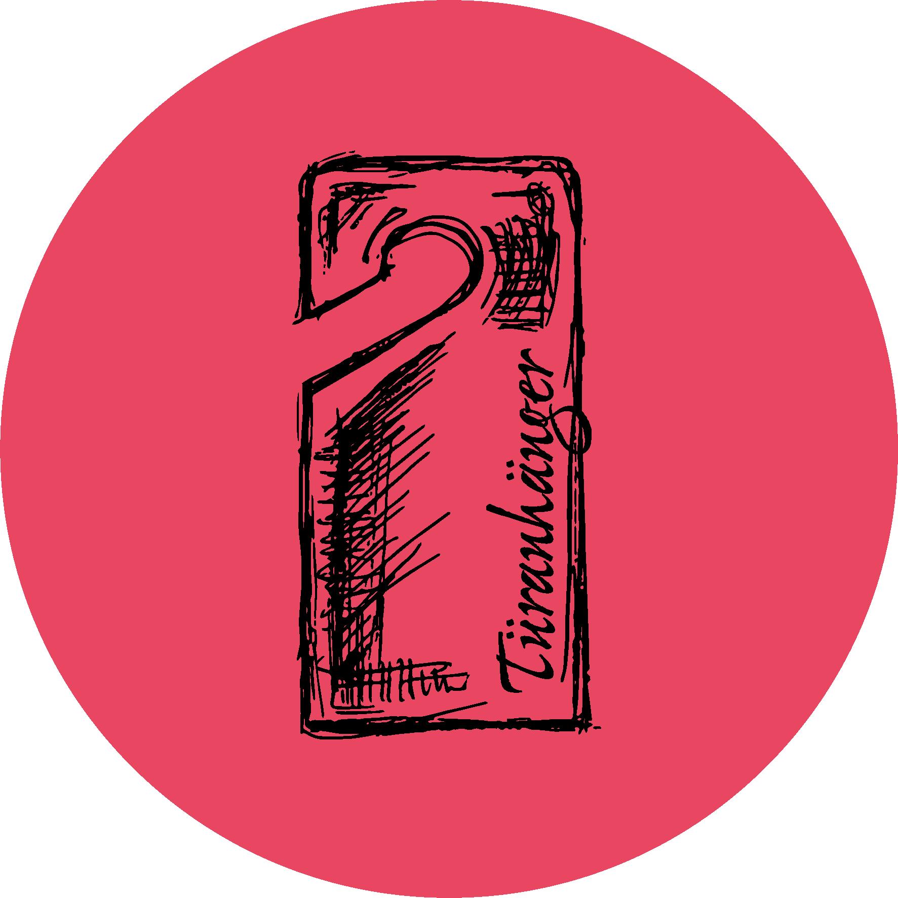 Schokocards Tueranhaenger Red