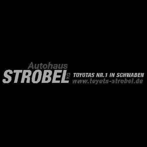 Schokocards Kunden Logo Autohaus Strobel