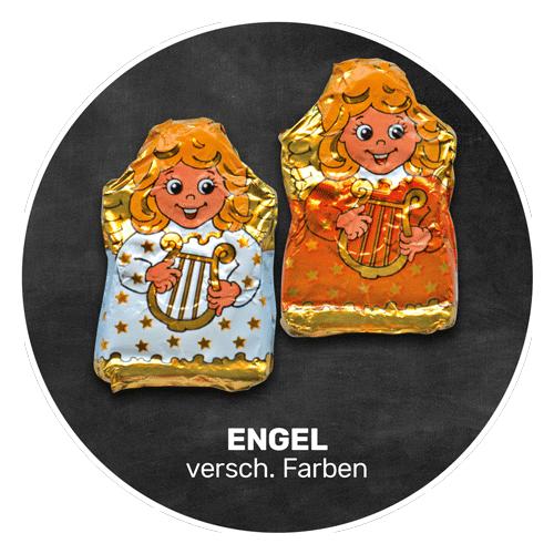 Himmlisch schokoladig | ENGEL in verschiedenen Farben | Firma Storz