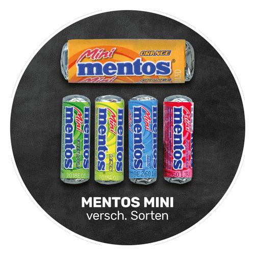 Fruchtig süß | MENTOS MINI