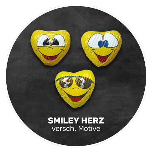 Himmlisch schokoladig | SMILEY HERZEN | Firma Storz
