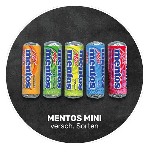 Fruchtig süß | MENTOS MINI in verschiedenen Geschmacksrichtungen