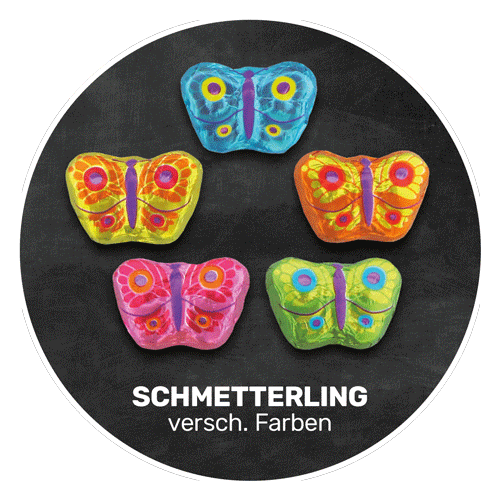Himmlisch schokoladig | SCHMETTERLING in verschiedenen Farben | Firma Storz