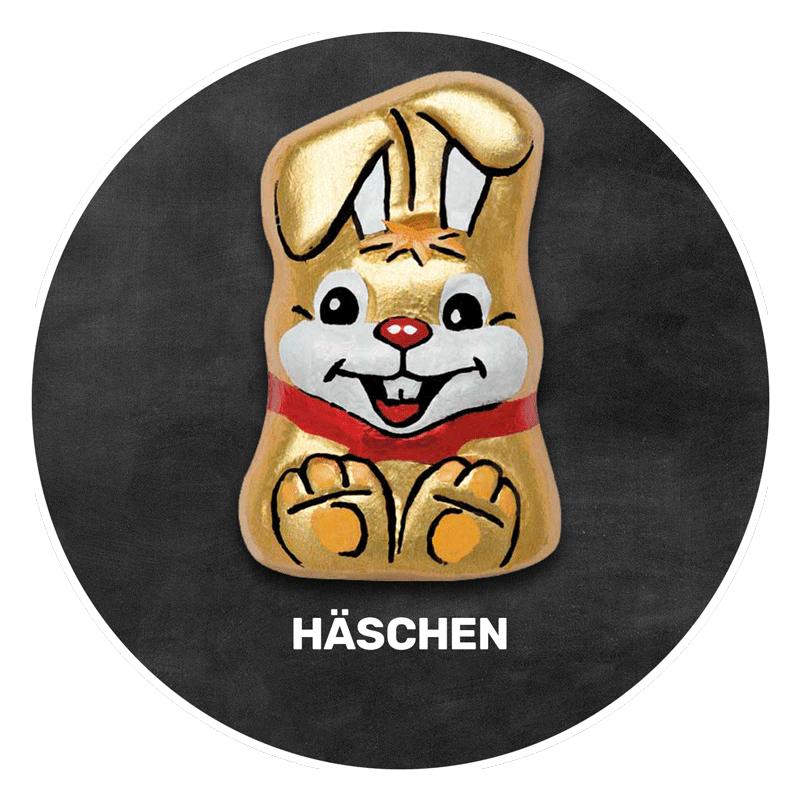 Himmlisch schokoladig | HÄSCHEN | Firma Riegelein