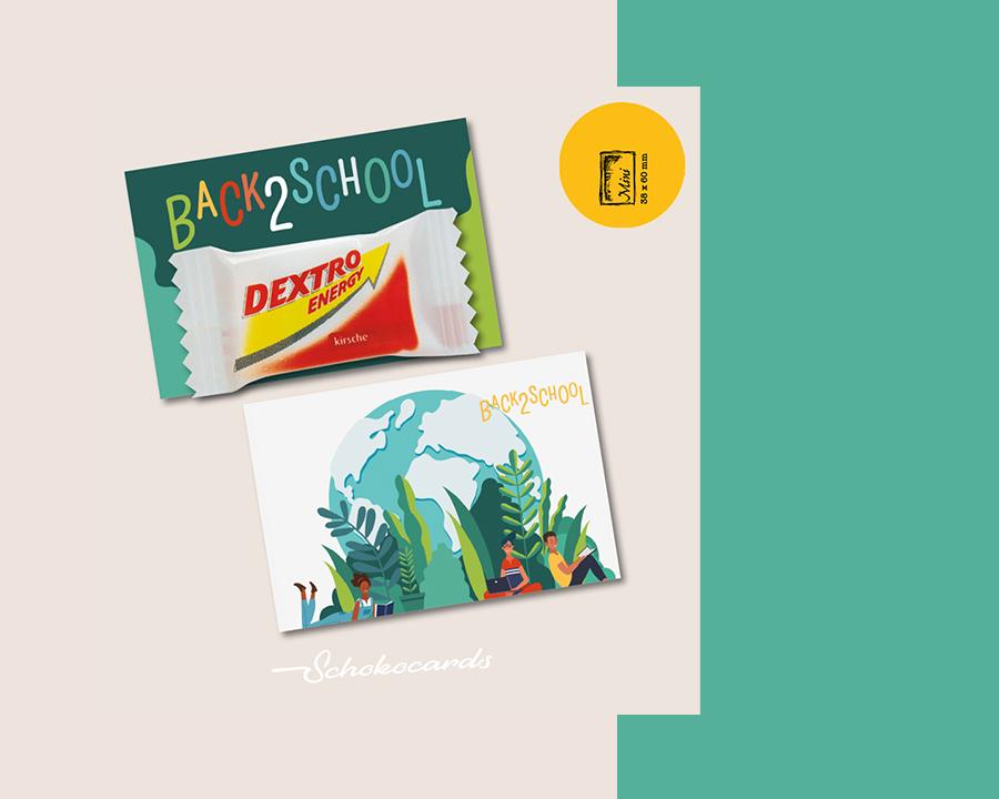 Schokocards Back 2 School Neu im Shop