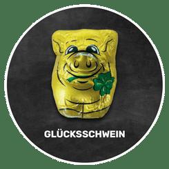 Himmlisch schokoladig | GLÜCKSSCHWEIN | Firma Riegelein