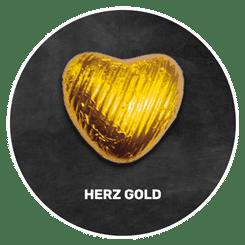 Himmlisch schokoladig | HERZ in Gold | Firma Storz