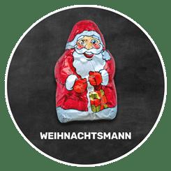 Himmlisch schokoladig | WEIHNACHTSMANN | Firma Storz